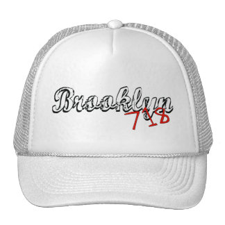 Brooklyn 718 trucker hat