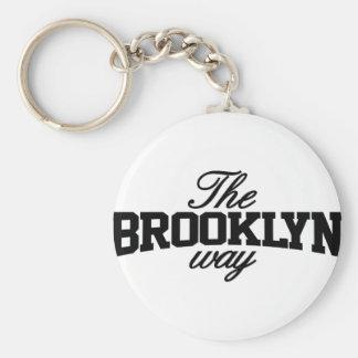 Brooklyn adaptable llaveros