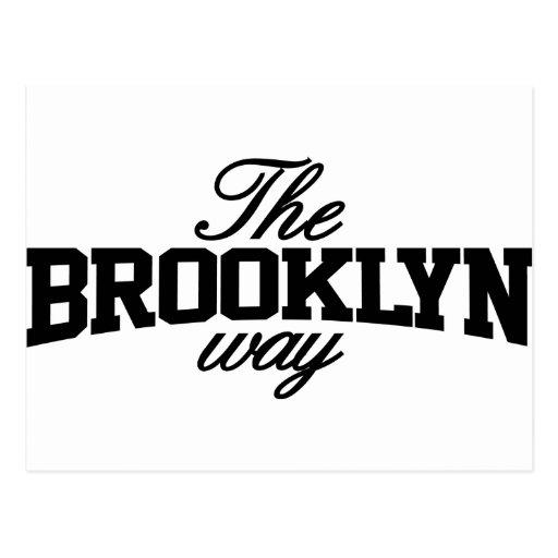 Brooklyn adaptable postales