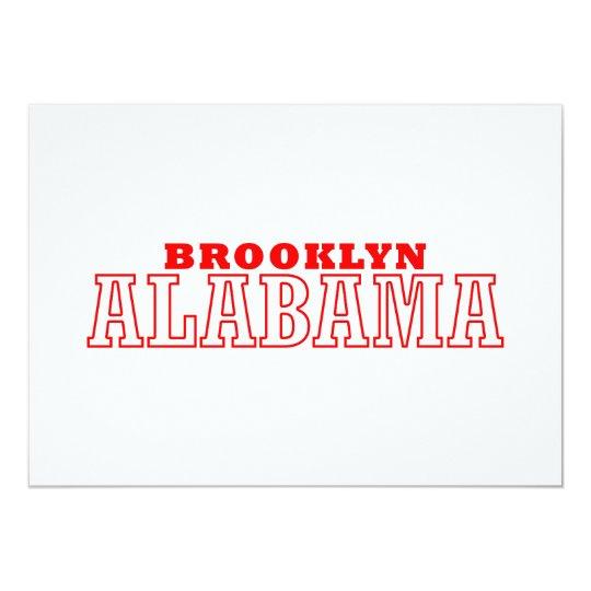 Brooklyn, Alabama City Design Card