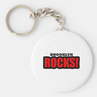 Brooklyn, Alabama City Design Keychain