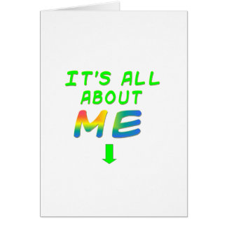 BROOKLYN All About Me Gifts Greeting Card