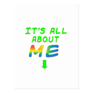BROOKLYN All About Me Gifts Postcard