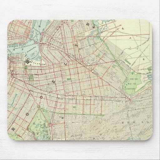 Brooklyn and Vicinity Mouse Pad