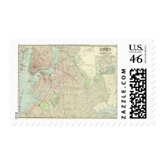 Brooklyn and Vicinity Postage Stamps