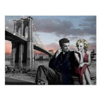 Brooklyn B&W Postcard