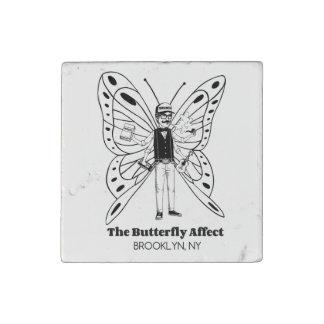 Brooklyn BA Fancy Stone Magnet