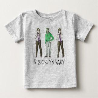 Brooklyn Baby NYC Williamsburg Hipster New York Baby T-Shirt