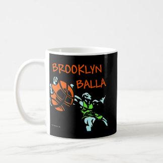Brooklyn Balla Basketball Gear Classic White Coffee Mug