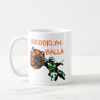 Brooklyn Balla Classic White Coffee Mug