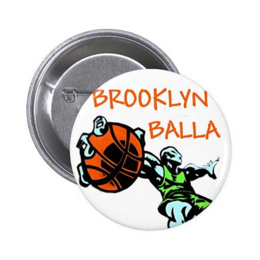 Brooklyn Balla Pin Redondo 5 Cm
