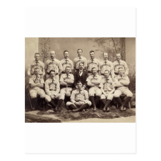 Brooklyn Baseball Team, 1889 Postcard