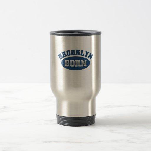 Brooklyn Born 15 Oz Stainless Steel Travel Mug