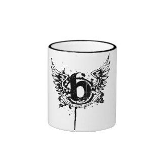 Brooklyn-Born-Productions-Logo-(Black) Ringer Coffee Mug