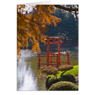 Brooklyn Botanic Garden Fall Card