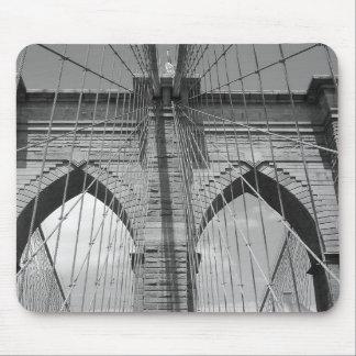 Brooklyn Brdige - B&W Mousepads