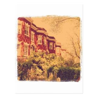 Brooklyn Brickstones Postcard