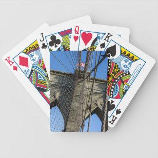 Brooklyn Bridge 02 Bicycle Playing Cards