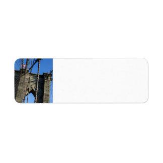 Brooklyn Bridge 02 Return Address Label