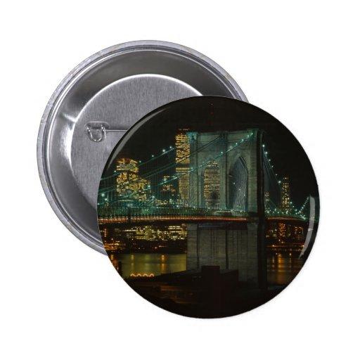 Brooklyn Bridge 1982 Button