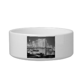 Brooklyn Bridge, 1982 Cat Food Bowl