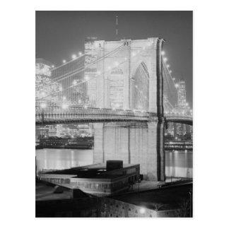 Brooklyn Bridge, 1982 Postcard