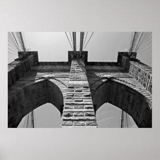 Brooklyn Bridge 2009-06-01-170-A Posters