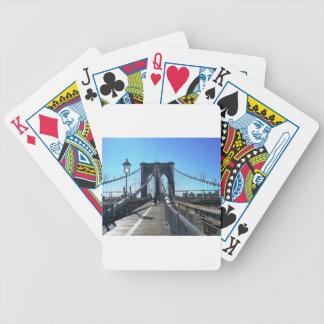 Brooklyn Bridge 2 Bicycle Playing Cards
