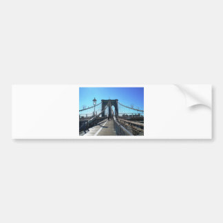 Brooklyn Bridge 2 Bumper Sticker