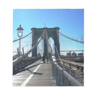 Brooklyn Bridge 2 Notepad