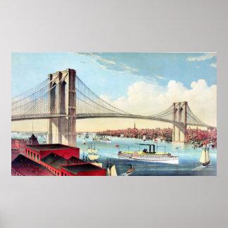 Brooklyn Bridge 2 Poster