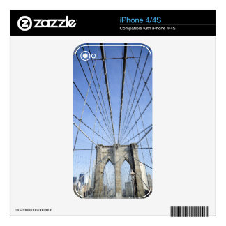 Brooklyn Bridge 2 Decal For The iPhone 4S
