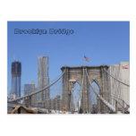 Brooklyn Bridge and Freedom Tower Postcards
