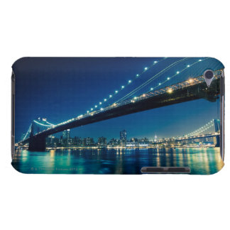 Brooklyn Bridge and Lower Manhattan at Night Barely There iPod Cover