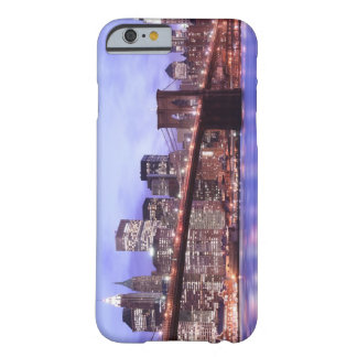 Brooklyn Bridge and Manhattan Skyline At Night Barely There iPhone 6 Case