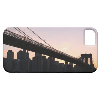 Brooklyn Bridge and Manhattan Skyline At Night iPhone 5 Covers