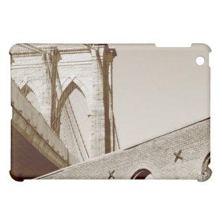 Brooklyn Bridge and Manhattan Skyline At Night Cover For The iPad Mini