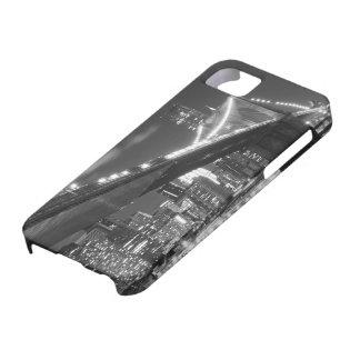 Brooklyn Bridge and Manhattan Skyline At Night iPhone SE/5/5s Case