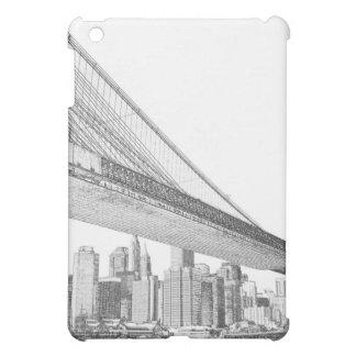 Brooklyn Bridge and Manhattan Skyline At Night, Ne iPad Mini Case