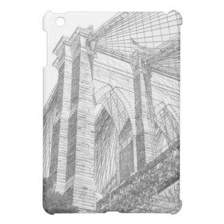 Brooklyn Bridge and Manhattan Skyline At Night, Ne iPad Mini Covers