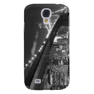 Brooklyn Bridge and Manhattan Skyline At Night Samsung S4 Case
