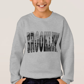 Brooklyn Bridge and Manhattan Skyline At Night Sweatshirt