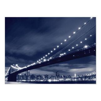 Brooklyn Bridge and Manhattan Skyline Announcement