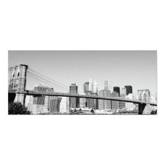 Brooklyn Bridge and Manhattan Skyline Invitation