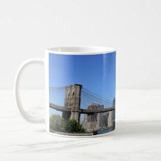 Brooklyn Bridge and Manhattan Skyline Mugs