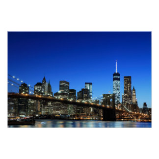 brooklyn posters zazzle. Black Bedroom Furniture Sets. Home Design Ideas