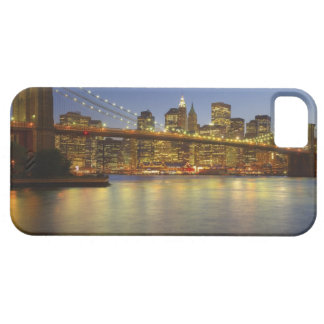 Brooklyn Bridge and New York City buildings iPhone SE/5/5s Case