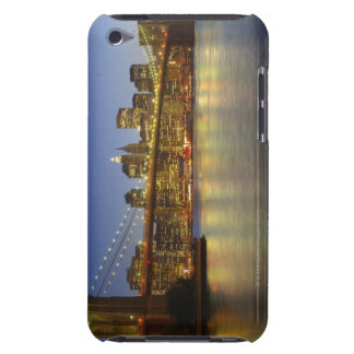 Brooklyn Bridge and New York City buildings iPod Touch Case