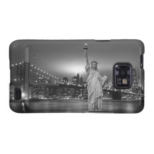 Brooklyn Bridge and The Statue of Liberty Galaxy SII Case