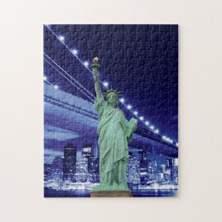 Brooklyn Bridge and The Statue of Liberty Puzzles